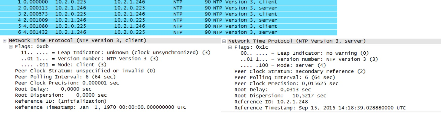 NTP not syncing - Gaia